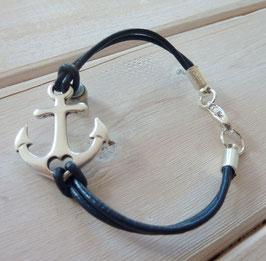 Ankerarmband dunkel blau