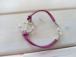 Ankerarmband pink