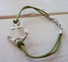 Ankerarmband grün