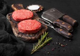 Hamburgerpatties a 220 Gramm vom Schottischen Hochlandrind