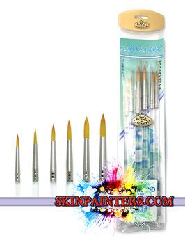 Royal & Langnickel Aqualon Round Brush Set