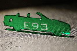 E93 Cabriolet BMW Schlüsselanhänger