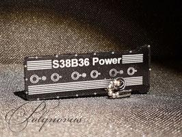 S38 Ventildeckel Lederschlüsselanhänger