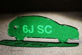 6J SC Seat Ibiza Sportcoupé Schlüsselanhänger