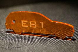 E81 3-Türer BMW Schlüsselanhänger