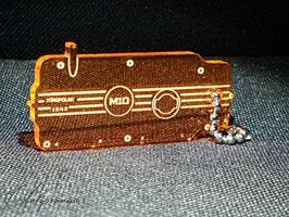 M10 Ventildeckel Lederschlüsselanhänger