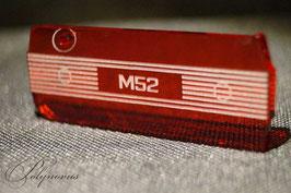 M52 Ventildeckel Lederschlüsselanhänger