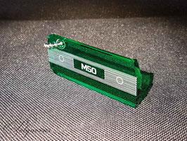 M50 Ventildeckel Schlüsselanhänger Umriss-Linien