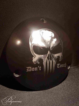 "Derby Cover ""Death Head Don't Touch"" für Harley-Davidson"