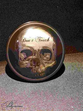 """Tankdeckel """"Skull - Don't Touch"""" für Harley-Davidson"""