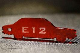 E12 Limousine BMW Schlüsselanhänger