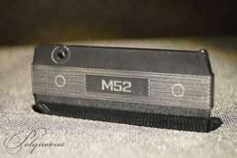 M52 Ventildeckel Schlüsselanhänger Umriss-Linien