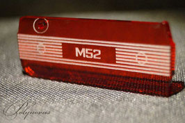 M52 Ventildeckel Schlüsselanhänger - Ausgefüllte Linien