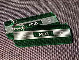 M50 Ventildeckel Lederschlüsselanhänger