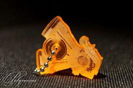 Evolution Motor Schlüsselanhänger