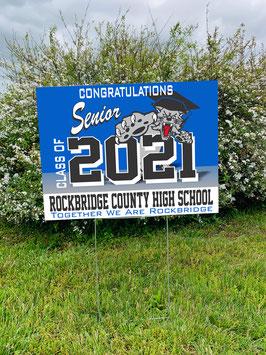 Additional RCHS Class of 2021 Senior Yard Sign (Generic)