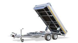 Dreiseitenkipper zweiachser  3500 kg