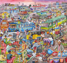 Leonard Ngure, »Dagoretti market«