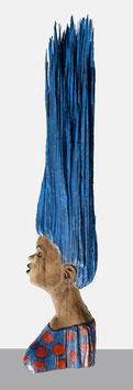 Mosoti Kepha, »The blue haired model«