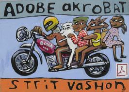 Wycliffe Opondo, »Adobe Akrobat – Strit vashon«