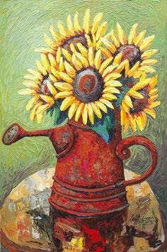 Jude Kasagga, »Sunflowers«