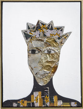 Moira Bush Kimani, »Starry Night, City Mask«