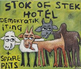 Wycliffe Opondo, »Stok of stek hotel«