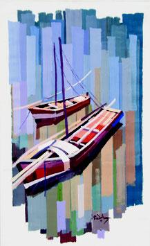 Fred Abuga, »Anchores Boats«