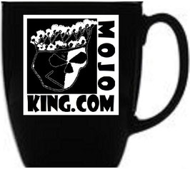 MOJO KING COFFEE CUP / Black or White