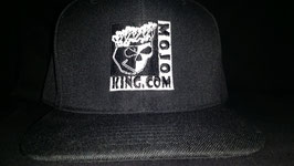 "MOJO KING BLACK FLAT BILLED ""SNAP BACK"" CAP"