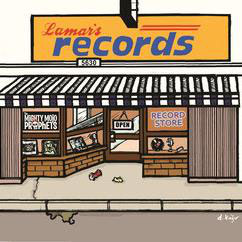 """Record Store"" Digital Download"