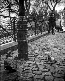 Trottoir de Montmartre