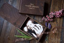 boite à souvenirs 10x15 avec gravure personnalisée