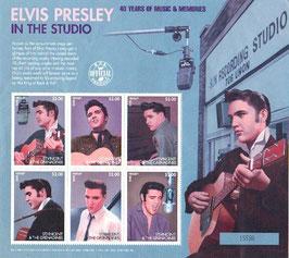 Elvis Presley Briefmarkensatz - LIMITIERT