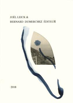 Joël Leick & Bernard Dumerchez Éditeur - Carte de vœux 2018