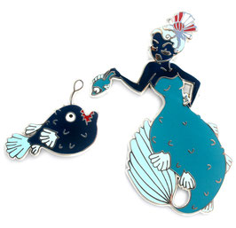 Mer-Mates two pin set angler fish