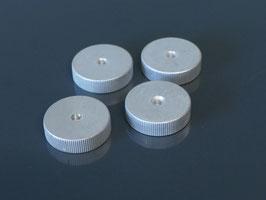 NOS TD124 levelling knobs