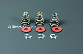 Motor-suspension kit with springs