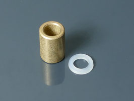 Sintered bronze bushing for idler wheels