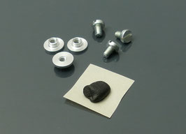 45rpm adaptor fastener set