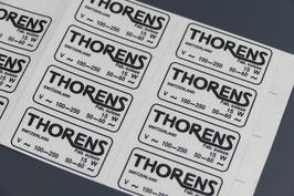 """""""Thorens"""" Chassis Kleber TD124"""