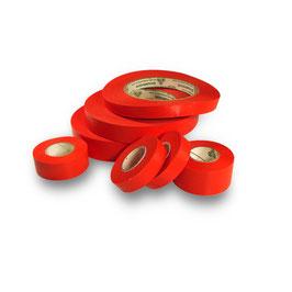 IdentiTape - Laborbeschriftungsband, Rot, Verschiedene Größen