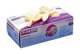 Kimtech Laborhandschuhe Satin plus aus Latex, VE = 100 St.