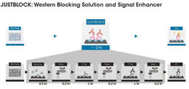 EZEE JUSTBLOCK Western Blocking Lösung und Signalverstärker, 500ml