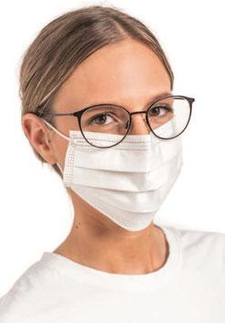 OP-Masken nach DIN 14683:2019, Typ II R, mit Zertifikat, weiß, VE = 50 Stück