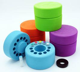 JoJo iCellBox - Einfrierbox für bis zu 12 Kryo-Röhrchen von 0,5 bis 2,0 ml