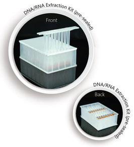 Extraktions und Reinigungs-Kit für Nukleinsäuren (DNA/RNA) auf Magnetbeadbasis, kompatibel zu 32-Kanal-Nukleinsäure-Extraktor, VE = 64 Aufreinigungen