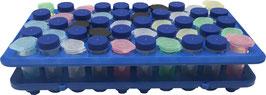 Arbeitsstation/Dekantiergestell für 5 ml Makroröhrchen, 50-fach (5x10)