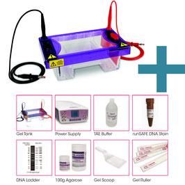 Kompletter Mini-Agarosegel-Kit mit Reagenzien