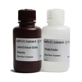LumiGO ECL Substrat-Kit: Luminol-/Verstärkerlösung; Peroxidlösung